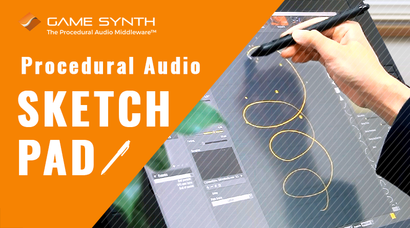 Procedural audio sketch pad3