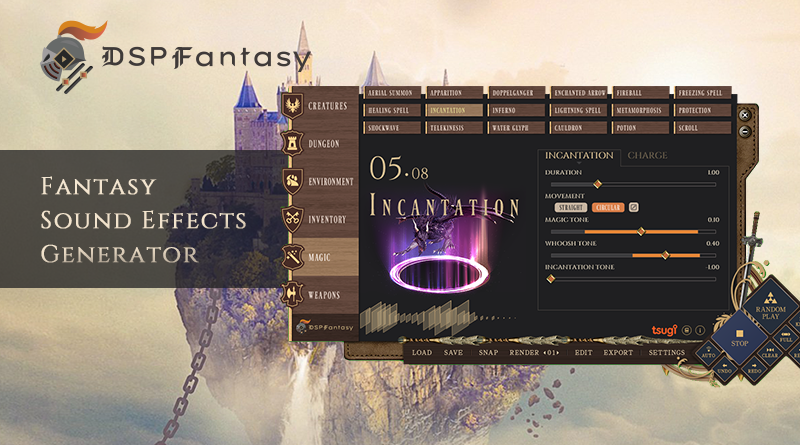 20200504_DSPFantasy released
