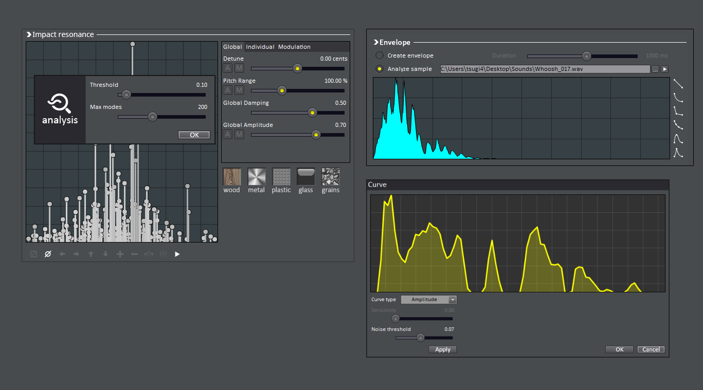 Gamesynth Tsugi Software For Creatives Rain Sound Effects Generator Circuit Realistic Sounds