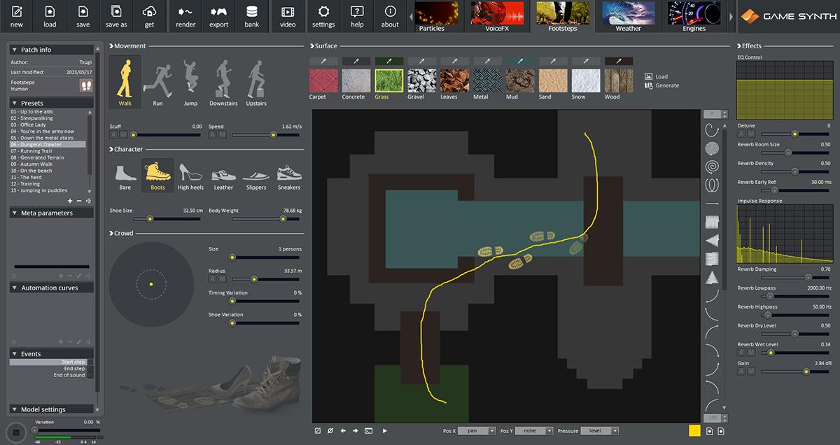 GameSynth | Tsugi : Software for Creatives