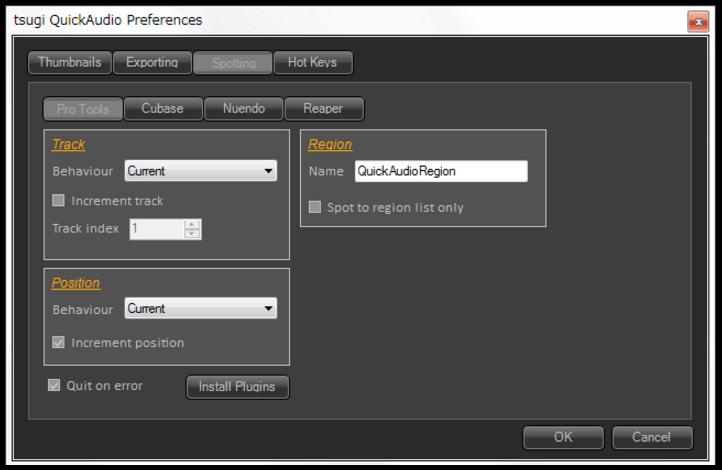 QuickAudio | Tsugi : Software for Creatives